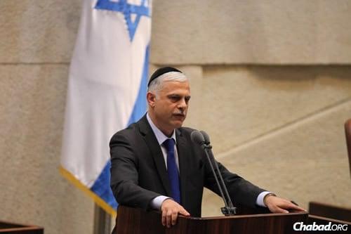 MK Amnon Cohen (Photo: Itzik Harari, Knesset)