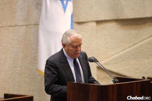 MK Yair Shamir (Photo: Itzik Harari, Knesset)
