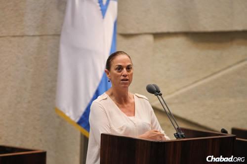 MK Ruth Calderon (Photo: Itzik Harari, Knesset)