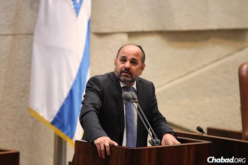 MK Yakov Margi (Photo: Itzik Harari, Knesset)