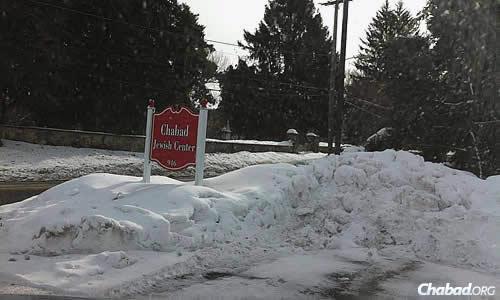 L'hiver dernier qui a connu une chute record des températures et des tempêtes de neige a fortement endommagé le parking