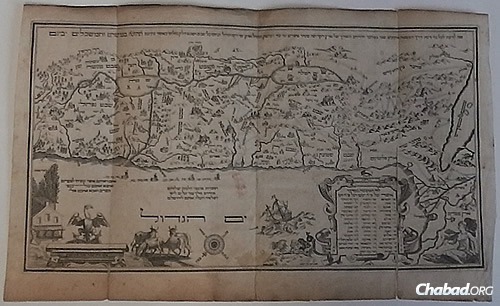 מפה - אמסטרדם 1695
