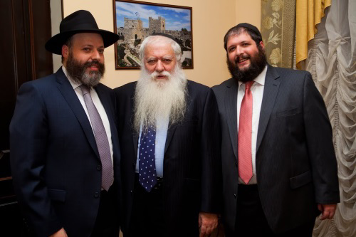 A family of emissaries—the father, Rav Zev HaCohen, the emissary in Tula, Russia; the brother, Rav Binyamin HaCohen, the emissary in Krasnoyarsk, Russia; Rav Aharon HaCohen, the emissary in Irkutsk, Russia