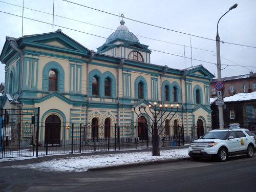 The historic synagogue in Irkutsk was returned to the Jewish community