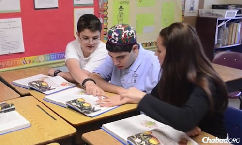 "South Florida Jewish Academy's ""inclusion program,"" in which children with special needs are in the same class as neurotypical peers, is the only Jewish program of its kind in Florida."