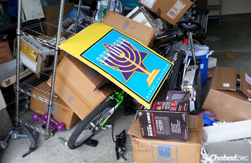 Despite the damange, they and other Chabad emissaries in the San Francisco area were focused on the needs of others in their communities.