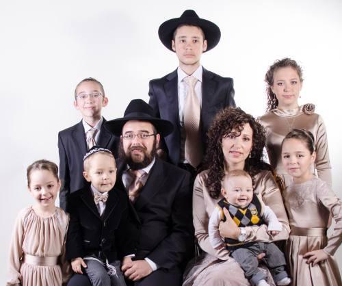 משפחת גופין, שלוחי הרבי בלוגנסק, בבר המצווה