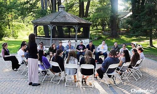 Teens and Chabad-Lubavitch emissary families got together recently for a CTeen Leadership Retreat Weekend at the Isabella Freedman Jewish Retreat Center in Falls Village, Conn. (Photo: Itzik Roytman)
