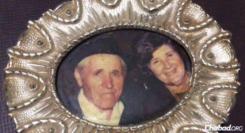 Zev Steiglitz's parents, Yakov and Baila Steiglitz