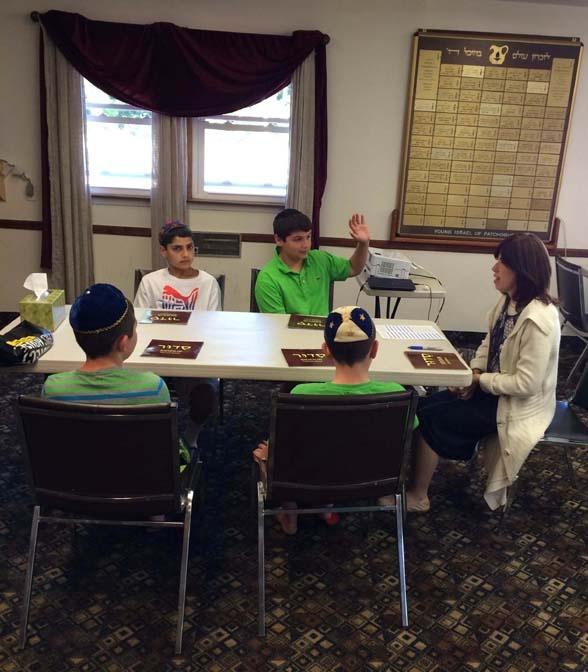 We learn loads of things in Hebrew school!