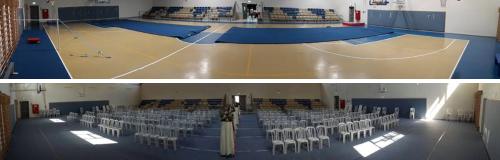 בית כנסת פתוח בצור יצחק. לפני ואחרי