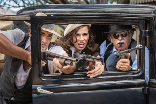© Creatista Dreamstime.com - Gangsters Shooting From Car Photo.jpg