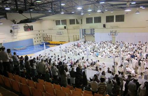 """בית הכנסת הפתוח ברובע ט""""ז באשדוד"""