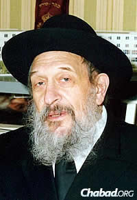 The late Rabbi Hillel Pevzner, for whom the schools are named.