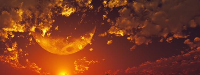 Déluge lunaire, année solaire