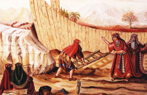The Story of Noah and the Ark in the Bible - Jewish History
