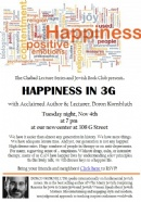 Happiness Lecture