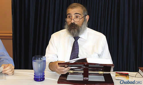 There are just a few more weeks to go until the entire 1,017-chapter series, led by Rabbi Gordon, has been recorded.