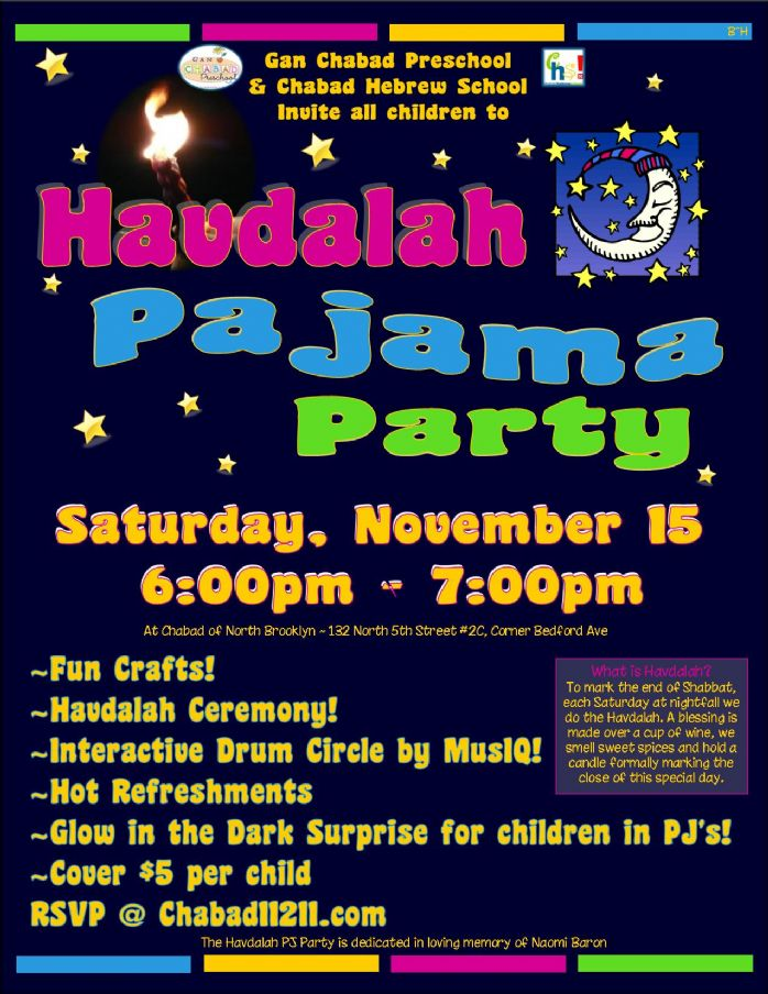 Havdalah Pajama Party 2014!.jpg