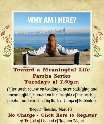 meaningful parsha