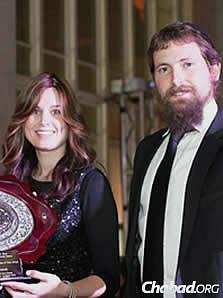 Rabbi Chaim and Deenie Lipskar, co-directors of the Downtown Jewish Center