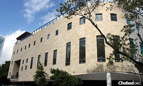 The new Rok Family Shul, Chabad Downtown Jewish Center in Miami offers 20,000 more square feet of space than its former site in an office tower. It is just one of many Chabad centers in the Miami-Dade area that's responding to the growth of the Jewish population in South Florida.