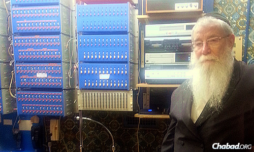 "Films and videos of the Rebbe are ""instrumental in giving the new generation a feeling and concept of who the Rebbe was and how he interacted with people,"" explains Rabbi Chaim Halberstam, who for years arranged for communities outside of Crown Heights to hear the Rebbe's addresses via a massive telephone relay system."