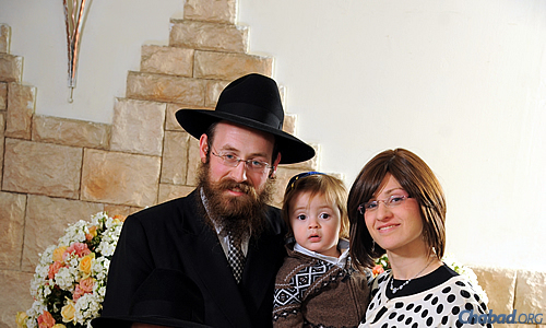 Rabbi Shneur and Musya Landa direct Chabad on Campus in Netanya, Israel.