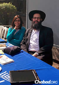Rabbi Shlomo and Matti Banon, co-directors of the Université de Montreal in Canada