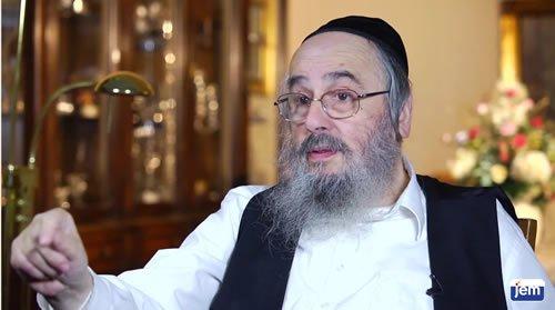 Rav Aaron Dovid Neuman, interviewé par JEM à son domicile