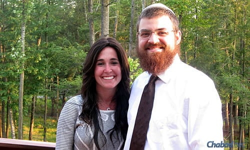Rabbi Getzy and Chana Rubashkin, co-directors of Chabad of West Kendall & The Falls in Miami
