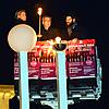Thousands in Wintry Berlin Show for Menorah-Lighting at Brandenburg Gate