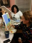 2014 Sip and Paint - Chanukah