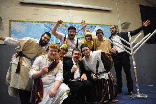 0075 Manchester Lubavitch Yeshiva Bochurs Chanucah play (2).JPG