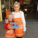 Home Depot Menorah Workshop 2014