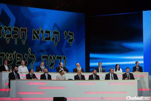The 16 scholars in the final round came from countries around the world.