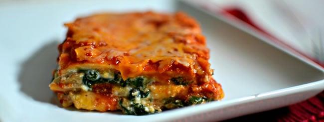 Spinach Ricotta Lasagna