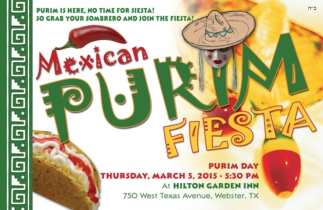 Purim in Mexico - Thursday, March 5, 2015 at 5:30 pm