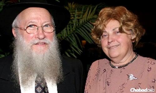Rabbi Avrohom and Rivka Korf
