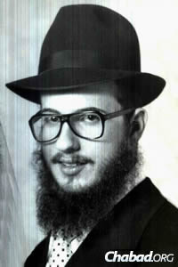 The rabbi in his younger years