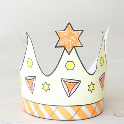 It is a picture of Crown Coloring Pages Printable with printable name