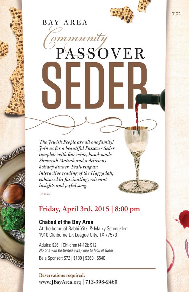Bay Area Community Passover Seder
