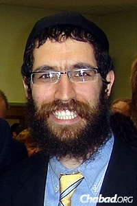 Rabbi Yitzchok Hecht, the synagogue's leader and co-director of Chabad of Ulster County in Kingston