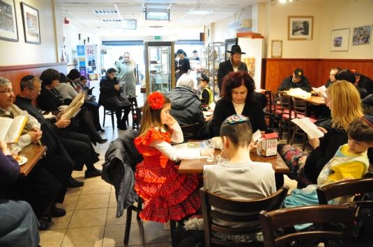 0249 Megillah at Brackman's cafe , bakery,Salford.JPG