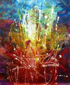 Painting by Yoram Raanan (photo credit:YORAM RAANAN)