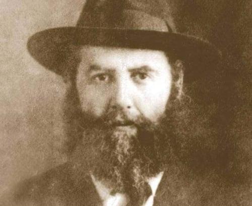 Rabbi Yosef Yitzchak Schneersohn—the Previous Rebbe, of righteous memory—in his younger years.