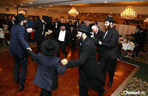 "Happiness filled the room; one guest said dancing with the men that night was ""transformational."""
