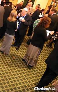 For many attending, it was their first time at a Chassidic event.