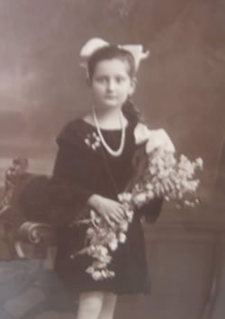 My grandmother as a young girl