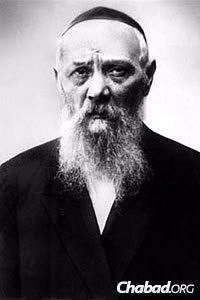 Rabbi Levi Yitzchak Schneersohn, of righteous memory, the Rebbe's father and the chief rabbi of Yekatrinoslav, which was renamed Dnepropetrovsk after the establishment of the Soviet Union. (Photo: Kehot Publication Society)